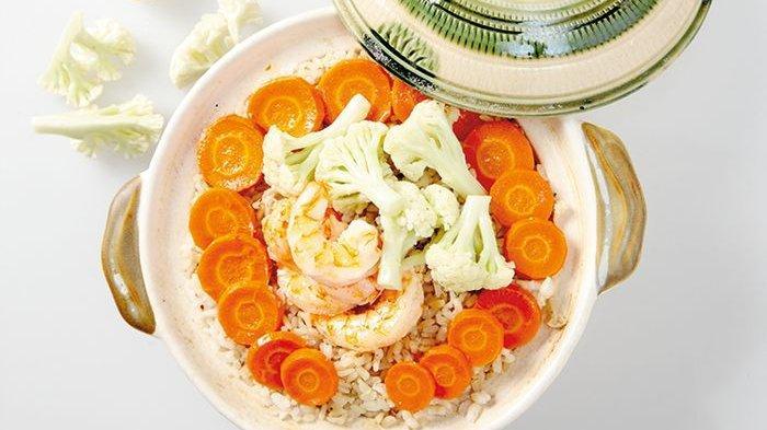 Resep Claypot Brown Rice, Bikin Makan Pagi Jadi Terasa Lebih Nikmat