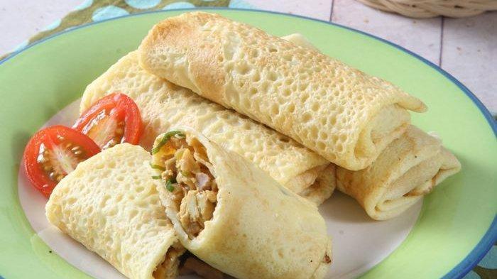 Resep Dadar Gulung Ayam, Menu Sarapan Enak atau Cocok untuk Bekal Si Kecil