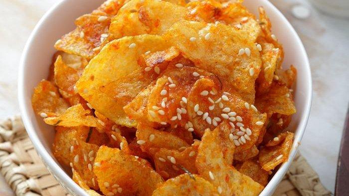 Resep Kering Kentang Pedas Wijen, Pelengkap Menu Makan Siangmu