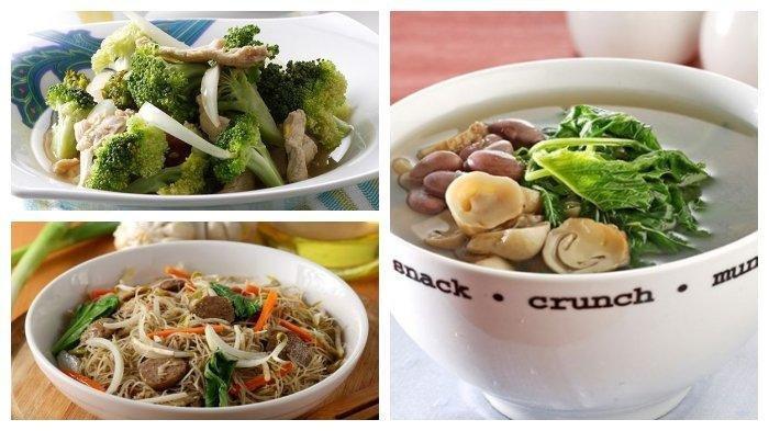 Resep Menu Sahur Mudah Dimasak: Sayur Bening Bayam Jamur hingga Tumis Ayam Brokoli