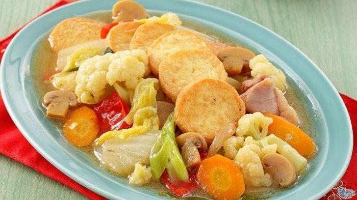 Resep Sapo Tahu Enak Menu Lezat Ala Chinese Food Yang Bisa Disajikan Bersama Keluarga Tribun Solo