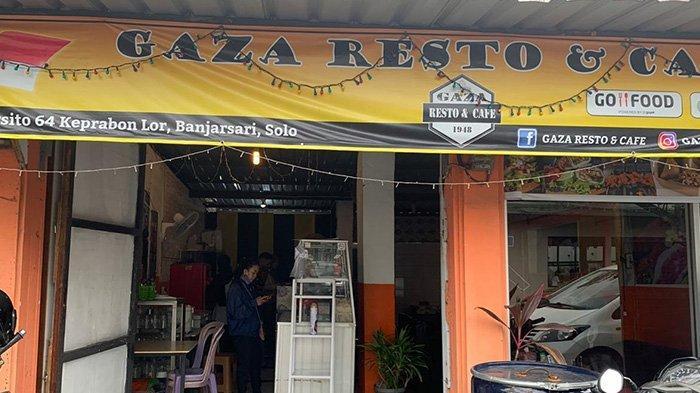 Maling Bobol Restoran Timur Tengah di Solo, Terekam CCTV Angkut Komputer Kasir dan Uang Rp 700 Ribu
