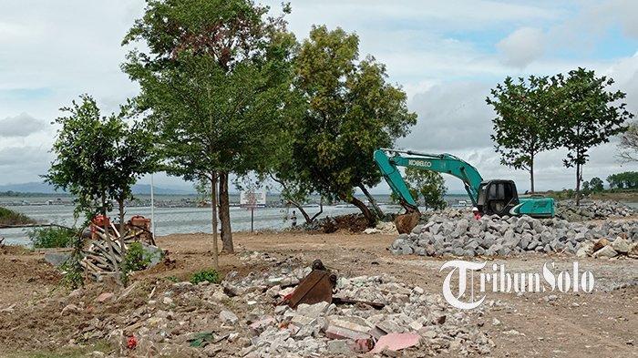 Area Parkir dan Pedestrian Objek Wisata Waduk Gajah Mungkur Wonogiri Dibenahi: Telan Rp 11 Miliar