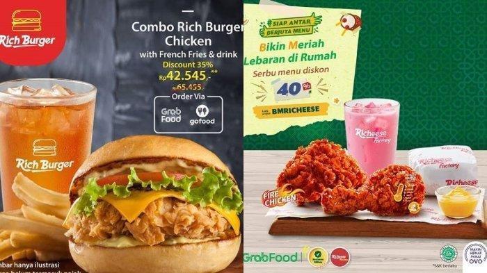Promo Richeese Factory Buy 1 Get 1 Free Mala Friend Fries, Diskon 30% Pembelian Rich Burger Chicken