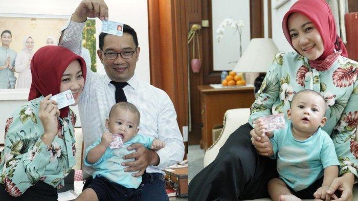 Gemasnya Arka Anak Bungsu Ridwan Kamil Kini sudah Bisa Ucap Kata 'Papa', Intip Videonya