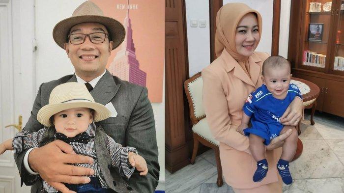 Ridwan Kamil Foto Berdua dengan Si Kecil Arka, Beri Jawaban Kocak saat Ditanya Kapan Istrinya Hamil