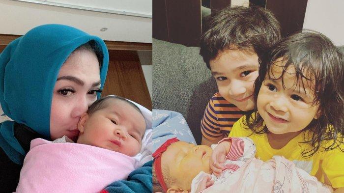 Cucu Bertambah, Rieta Amilia Ibu Nagita Bagikan Momen dengan Aruni, Flashback saat Kelahiran Ansara