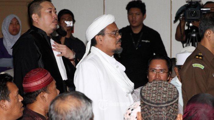Tim Penyidik Masih Olah Hasil Pemeriksaan Rizieq Shihab