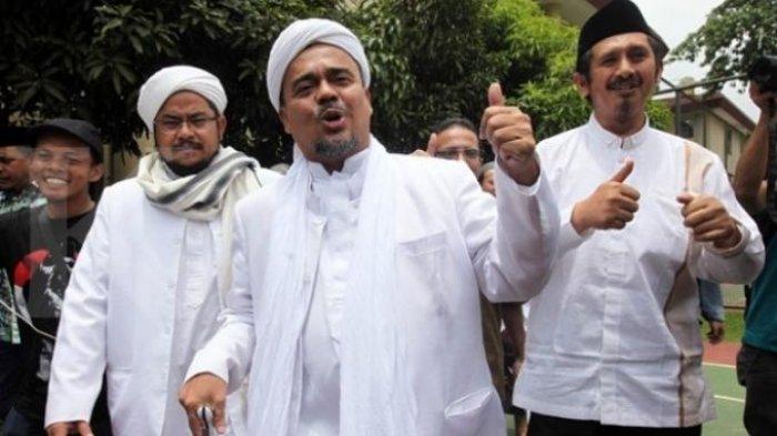 Panitia Reuni Akbar Mujahid 212 BerharapPencekalan Rizieq Shihab Bisa Segera Dicabut