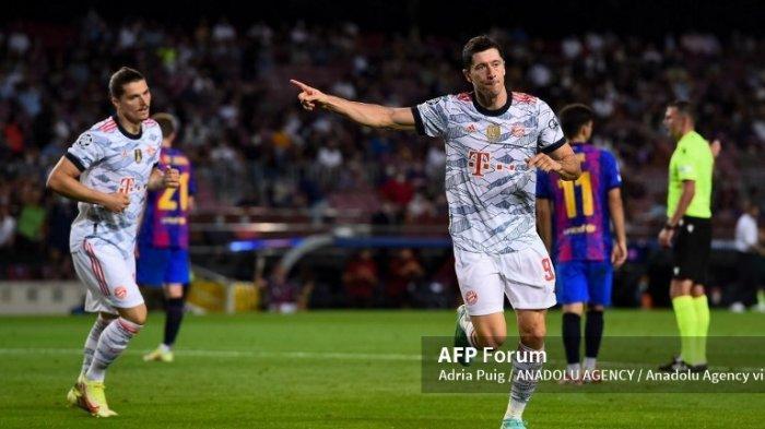 Bayern Munchen vs Barcelona : No Messi No Party, Robert Lewandowski Cetak Brace