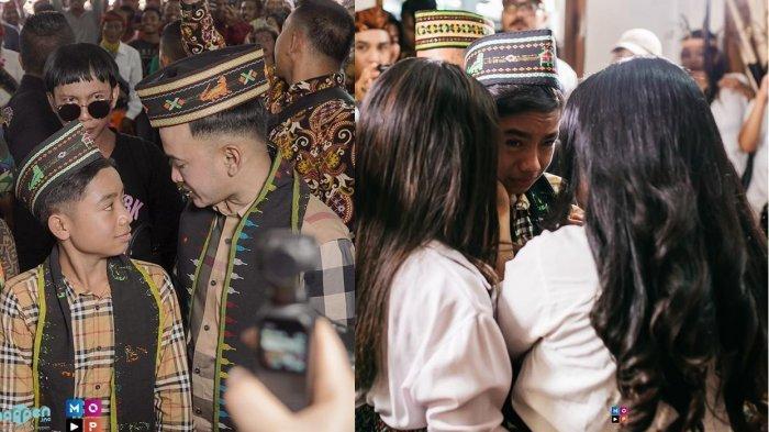 Ruben Onsu Jalani Tradisi Adat Demi Betrand Peto, Momen Haru saat Betrand dan Keluarga Menangis
