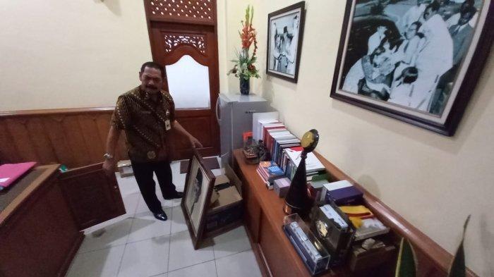 Potret FX Rudy Copoti Lukisan Bung Karno hingga Megawati, Jelang Pensiun Jadi Wali Kota Solo