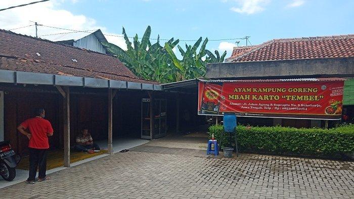 Saat Rumah Makan Favorit Presiden Jokowi Ayam Goreng Mbah Karto Sukoharjo Sepi Kena Imbas Corona