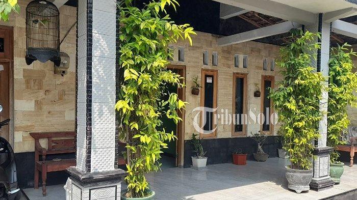 Rumah milik Dicky yang bakal digilas jalan tol Jogja-Solo di Dukuh Pasekan, Desa Ngabean, Karanganom, Klaten, Minggu (13/6/2021).