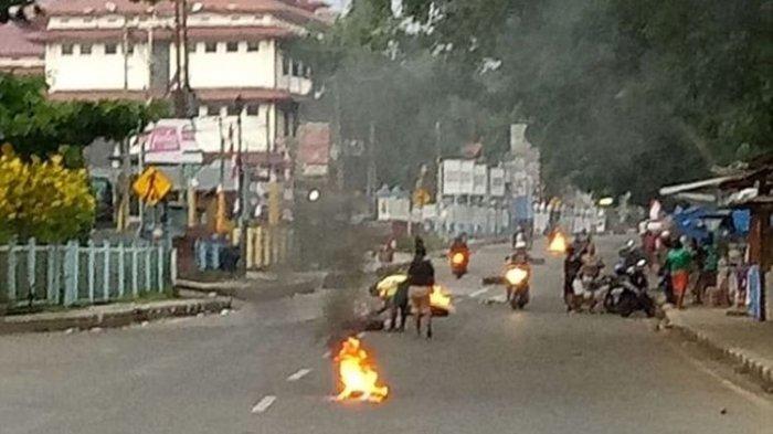 258 Napi Kabur saat Lapas Sorong Dibakar, Demonstran Diduga Lempari Batu ke Dalam Lapas