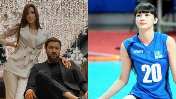 Dinikahi Pengusaha Kaya, Sabina Altynbekova Pemain Voli Cantik Ini Baru Saja Melahirkan Anak Pertama
