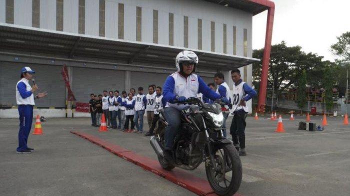 Perwakilan Astra Motor Jateng Ikuti Kompetisi Safety Riding Nasional di Pekanbaru