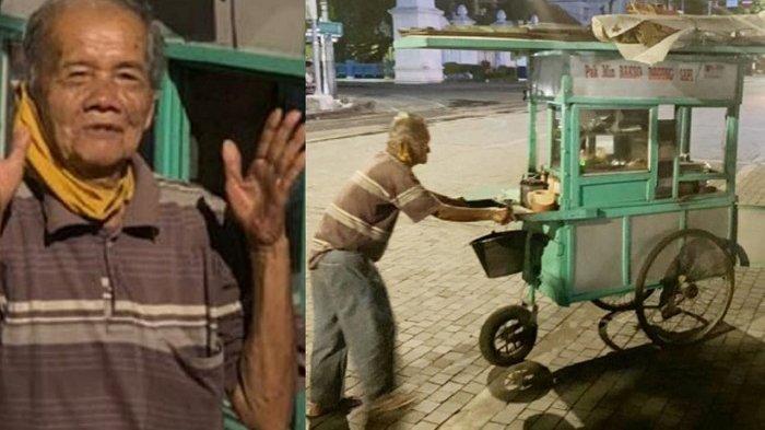 Pesan Kakek Viral Penjual Bakso di Solo Kepada Pembelinya, Tidak Boleh Manja dan Selalu Bersyukur