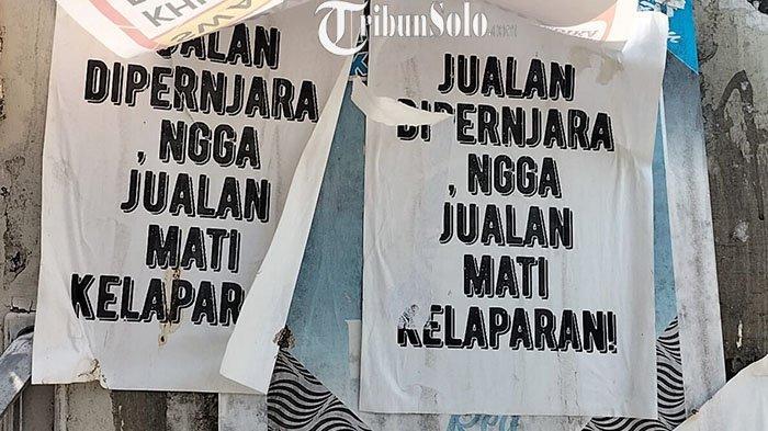 Ada Poster Kritik Pemerintah, Satpol PP Solo: Kami Menertibkan SesuaiAturan