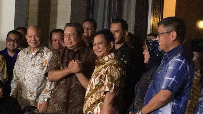SBY yang Usulkan Pidato Kebangsaan Prabowo Subianto Bertajuk 'Indonesia Menang'