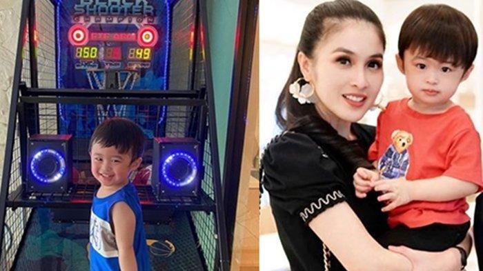 Manjakan Anak, Sandra Dewi Sediakan Mesin Basketball Arcade di Rumah, Segini Harganya