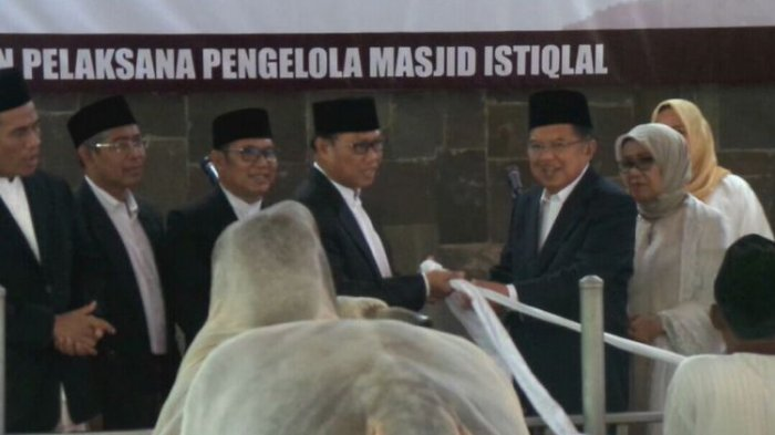Berbobot 1,5 Ton, Sapi Kurban Jokowi di Masjid Istiqlal Disebut Paling Berat