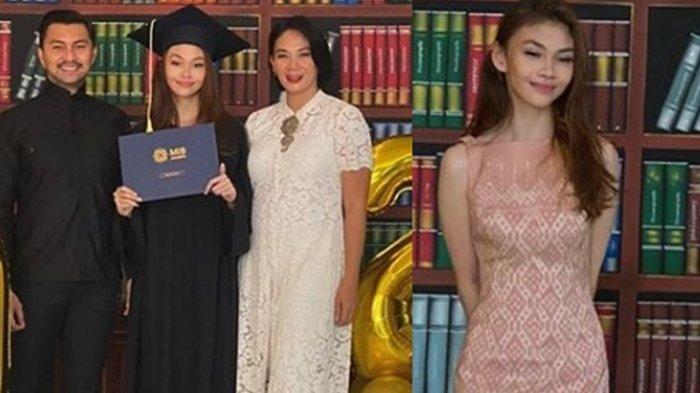 Sasikirana Putri Anjasmara Lulus SMA, Potret Kelulusannya Dipuji Cantik Mirip Dian Nitami Waktu Muda