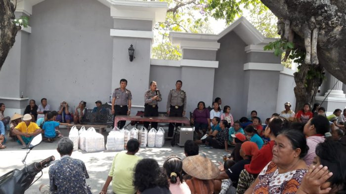 Diduga Lakukan Pungli, Ratusan Pengemis TPU Bonoloyo Dibina Polresta Solo