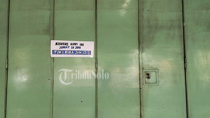 Mau Belanja Pengunjung Kecele, Swalayan di Karanganyar Ditutup, Gegara Ada yang Terpapar Covid-19