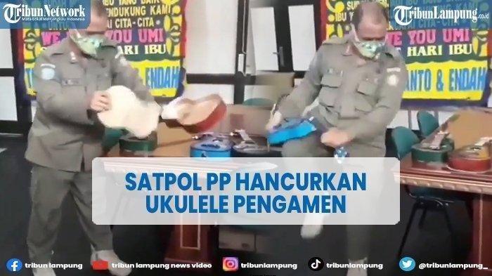 Klarifikasi Kepala Satpol PP Pontianak soal Anggotanya Hancurkan Ukulele Pengamen, Ini Pembelaannya