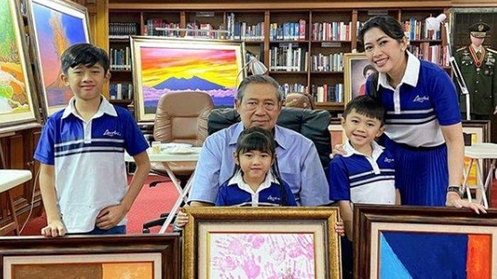 SBY Susilo Bambang Yudhoyono Genap 72 Tahun, Sang Menantu Ungkap Banyaknya Kiriman Bunga untuk SBY