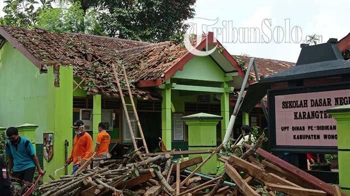 Kondisi SDN Karangtengah di Wonogiri Rusak, Kepala Sekolah Berharap Ada Perbaikan Secepatnya