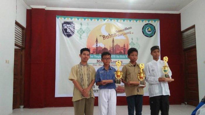 SMP Muhammadiyah PK Solo Borong Juara Lomba Islamic Competition se-Solo Raya