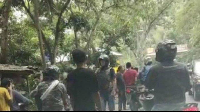 Viral Video Debt Collector Dipukuli Massa & Motornya Dibuang ke Parit, Polisi Ungkap Kondisi Korban