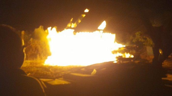 Gudang Kayu di Gondangrejo Karanganyar Terbakar, Damkar Berdatangan, Belum Diketahui Penyebabnya