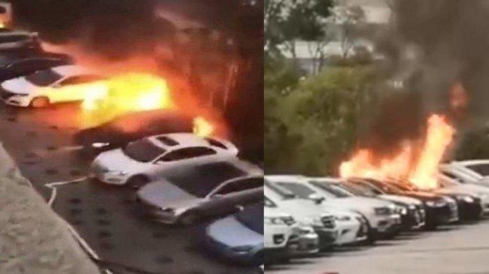Niat Jalan-jalan di Mall, Ayah Syok Lihat 2 Anaknya Terbakar di dalam Mobil Gara-gara Kesalahannya