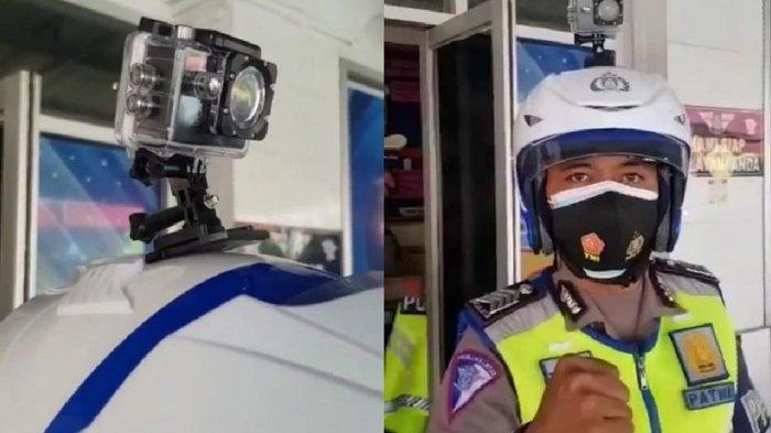 Ramai Soal Kopek di Sukoharjo, Polisi Pakai Action Camera di Helm, Apa Itu?