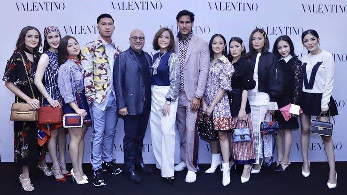 Nagita Slavina hingga Sandra Dewi Hadiri Anniversary ke-1 Toko Brand Mewah Milik Suami Maia Estianty