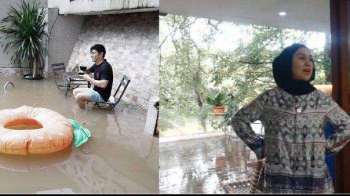 Ini Daftar Artis Korban Banjir di Jabodetabek, Pasrah Rumah Mewah Jadi Kolam Dadakan