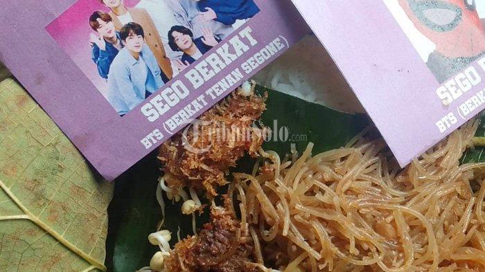 Terinsipirasi BTS Meal, Warga Sukoharjo Bikin Berkat Tenan Segone, Cuma Rp 12 Ribu