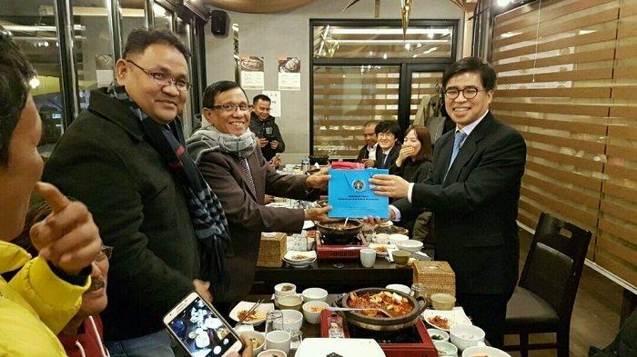 Kunjungi Korsel, PWI Tegaskan Siap Jadi Agen Perdamaian dalam Konflik Semenanjung Korea