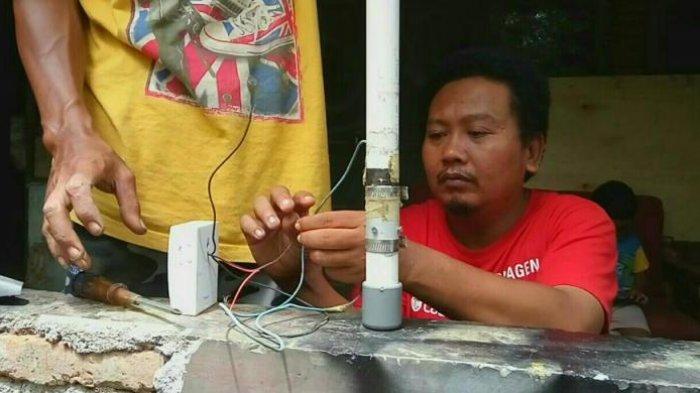Hanya dengan Rp 50 Ribu, Warga Bantul Yogyakarta Ini Bisa Rakit Sensor Gempa