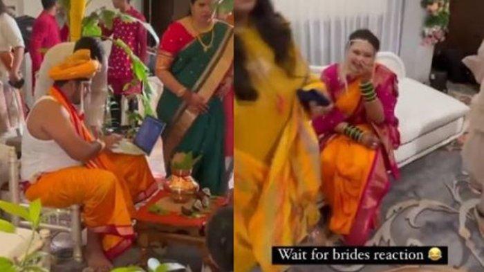 Viral Pengantin di India Ini Malah Kerja di Depan Laptop saat Hari Pernikahan, Bikin Geleng Kepala