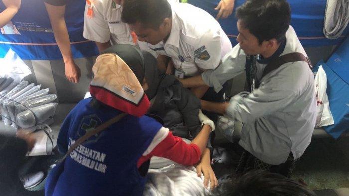 Pemudik Pingsan dan Berdarah-darah saat Kandungannya Kontraksi di Dalam Bus