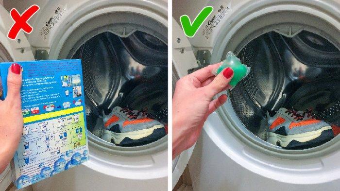 Cara Mencuci Sepatu yang Baik dan Benar dengan Mesin Cuci, Perhatikan Hal-hal Berikut