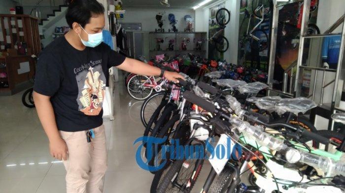 Demam Beli Sepeda Menurun, Penjualan di Toko Sepeda di Sukoharjo Anjlok: Harga Sudah Mulai Normal
