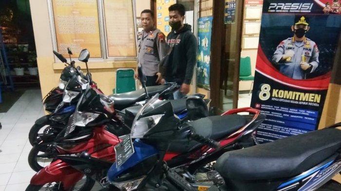 Berknalpot Brong, Puluhan Motor Disita Polsek Ngemplak Boyolali Selama Ramadan 2021