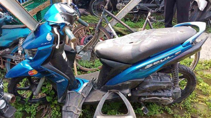 Video Viral Kebut-Kebutan di Solo Berujung Kecelakaan : Motor dari Bekasi