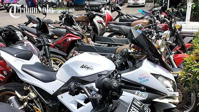 Ratusan Motor di Boyolali Diamankan Polisi, Tertangkap saat Balap Liar: Ada Ninja 250 cc