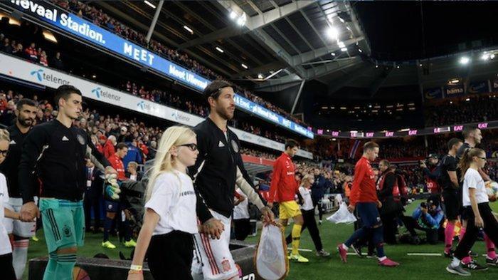 Mewahnya 'Penonton' Euro 2020 : Ada Erling Haaland, Jesse Lingard hingga Sergio Ramos